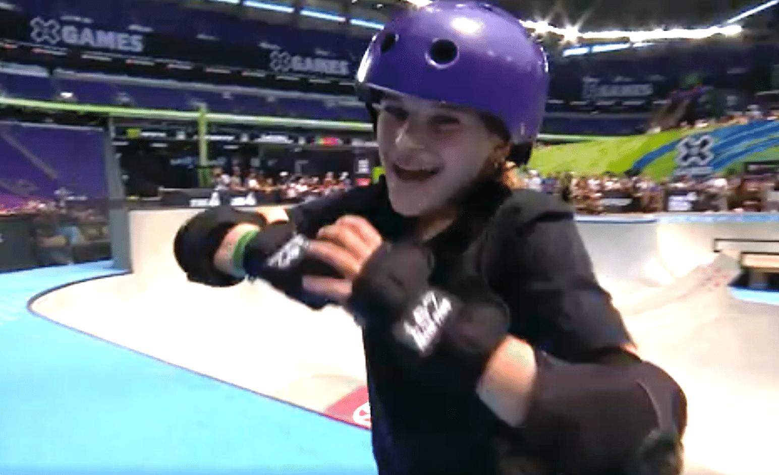 Thirteen Year Old Surf Skate Virtuoso Sabre Norris Wins X