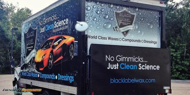 Black Label Wax : Box Truck