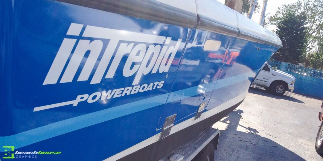 Boat Graphics and Wrap - Daytona Beach