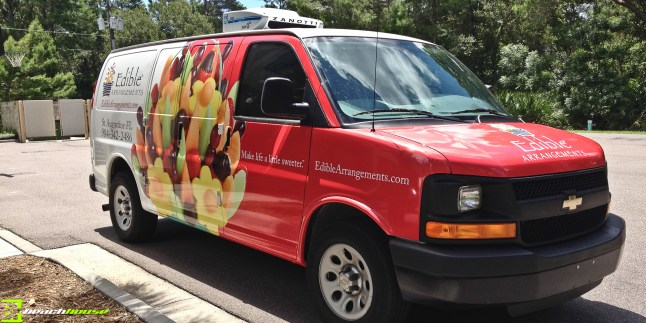 Vehicle Graphics, Wraps, Van, Advertising