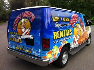 Vehicle Wrap, Van Graphics, Can Sticker