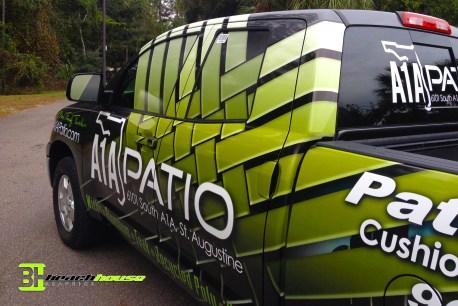 Truck Wrap : A1A Patio