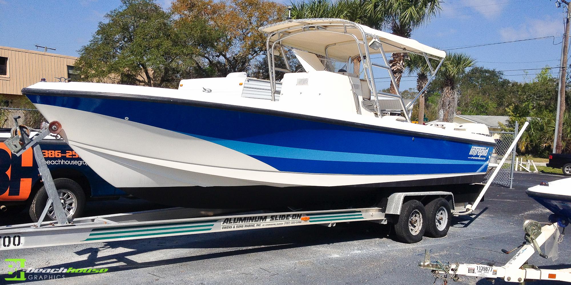 Vinyl Boat Decal Custom Vehicle Wraps