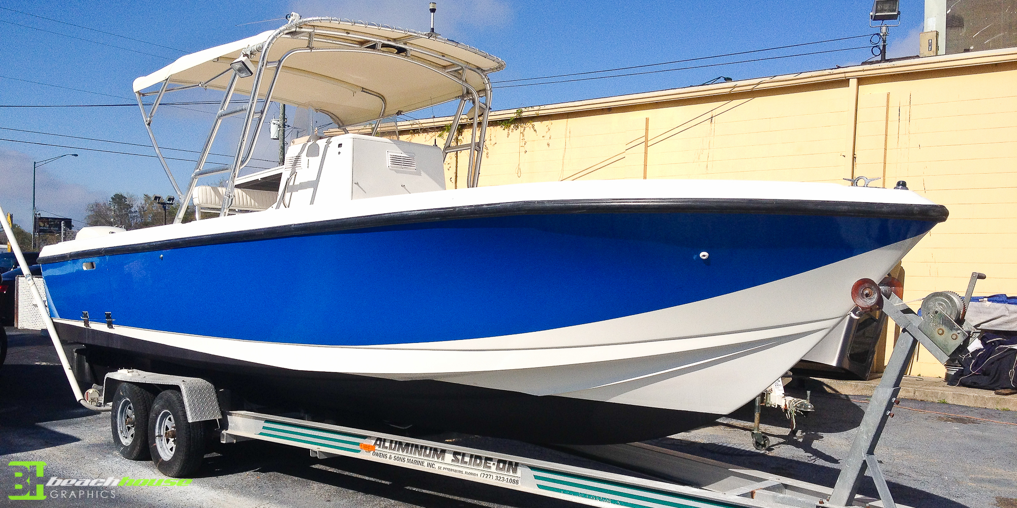 Florida Boat Wraps Custom Vehicle Wraps