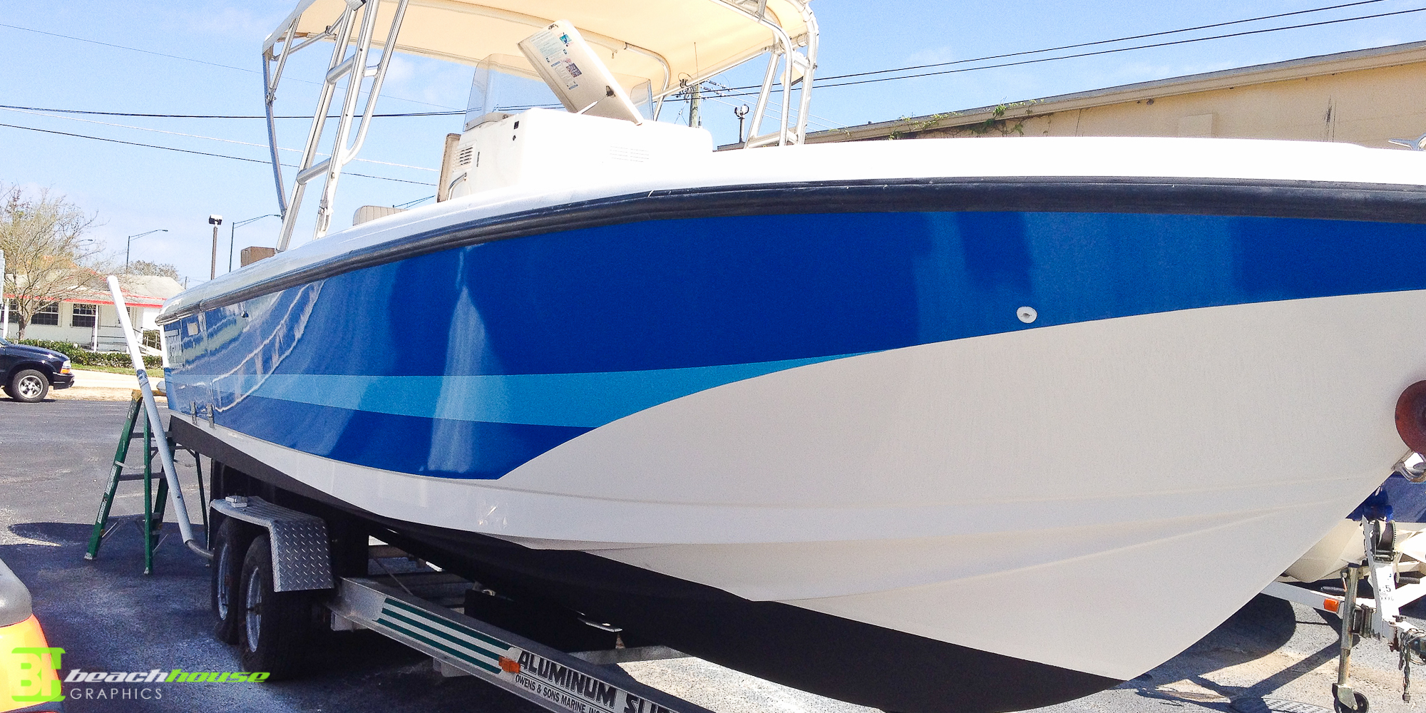 Boat Graphics Custom Vehicle Wraps