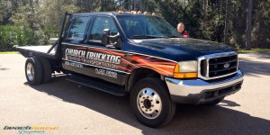 Flat Bed Truck Wrap