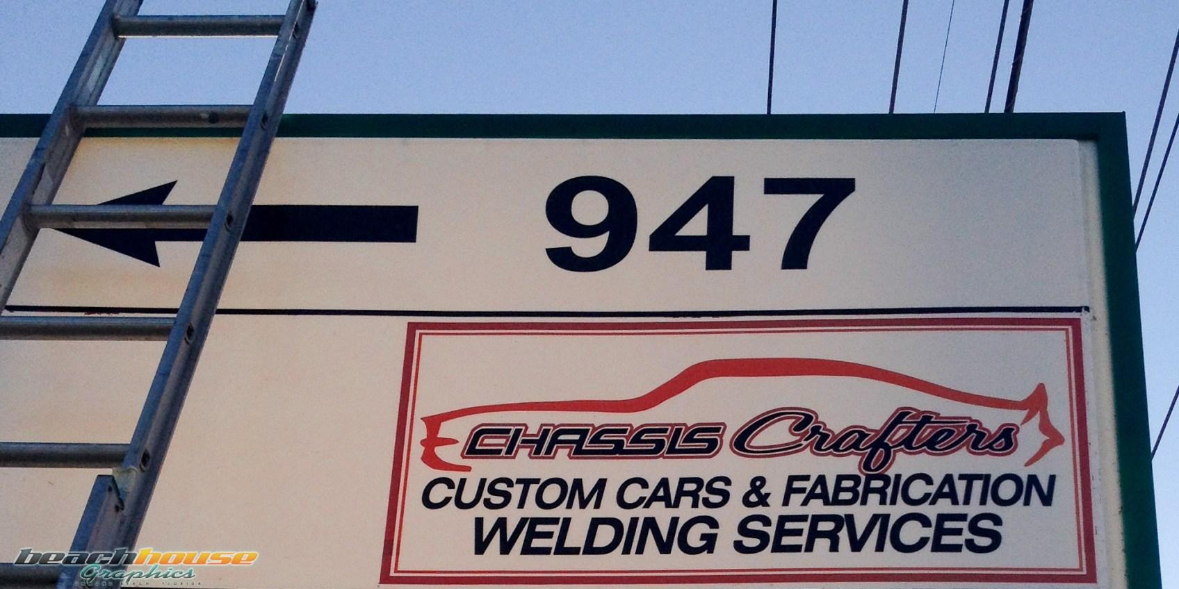 Vinyl Sign Work in South Daytona