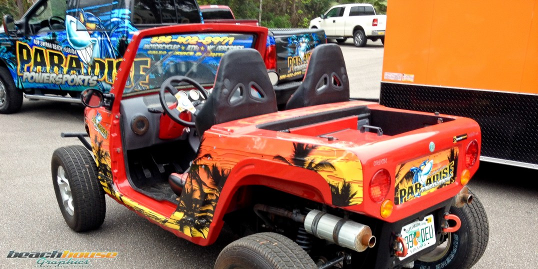 ATV, UTV, Golf Car Graphics, Wraps, Decals, and MOre