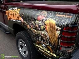 Camo Vehicle Wrap : 3M Vehicle Wrap
