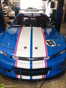 Vehicle Striping and Mustang Design