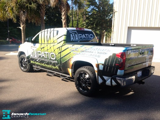 Custom Graphics for Truck wrap in Florida