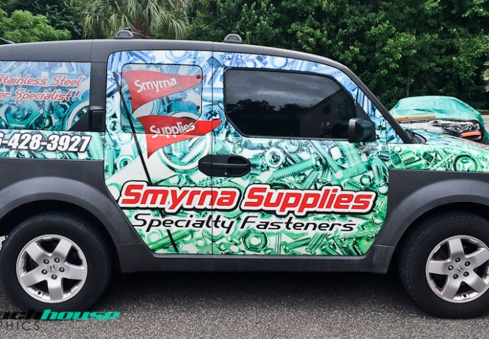 Honda Element Full Vehicle Wrap