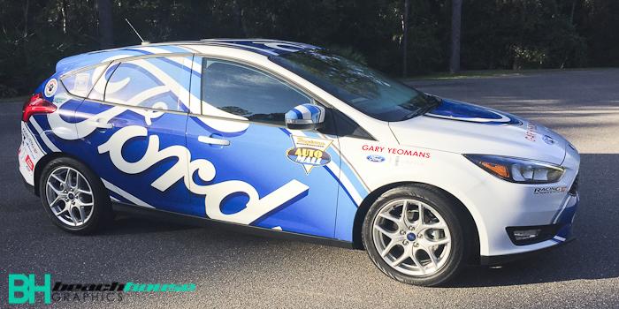 Ford Focus Dealership Wrap Custom Vehicle Wraps