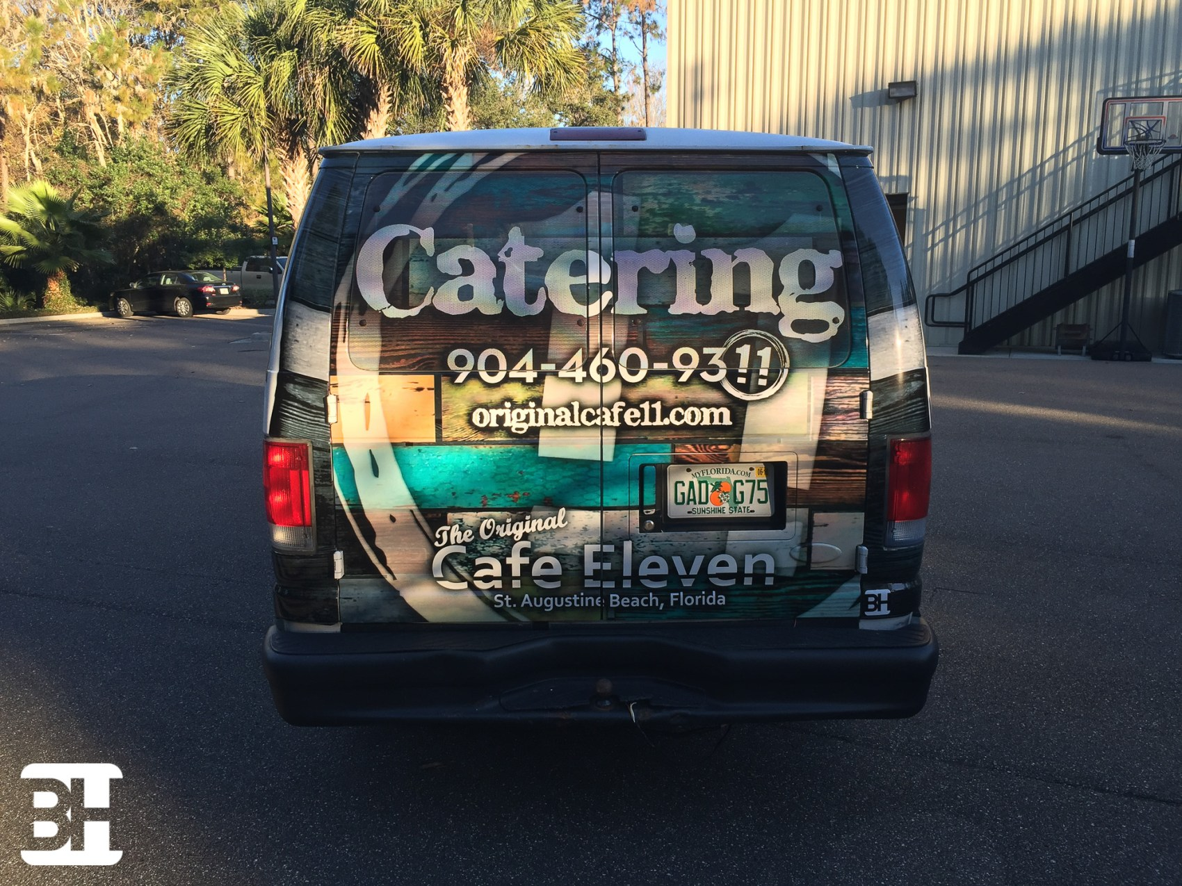 Van wrap in St Augustine Florida for Restuarant