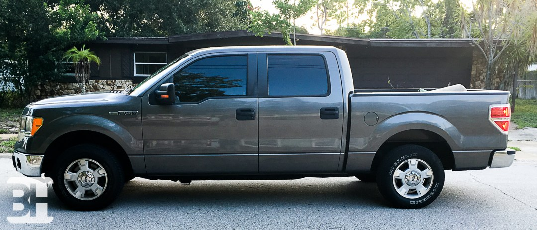 Ford F-150 Charcoal before color change done in Daytona Beach FL