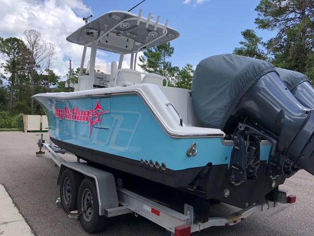Color Change boat wrap Ormond Beach
