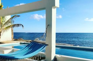 Blue Curacao at a cool swimming pool?