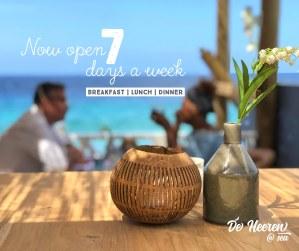 Restaurant aan zee Pietermaai Curacao