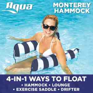 Aqua Monterey 4-in-1 Multi-Purpose Inflatable Hammock