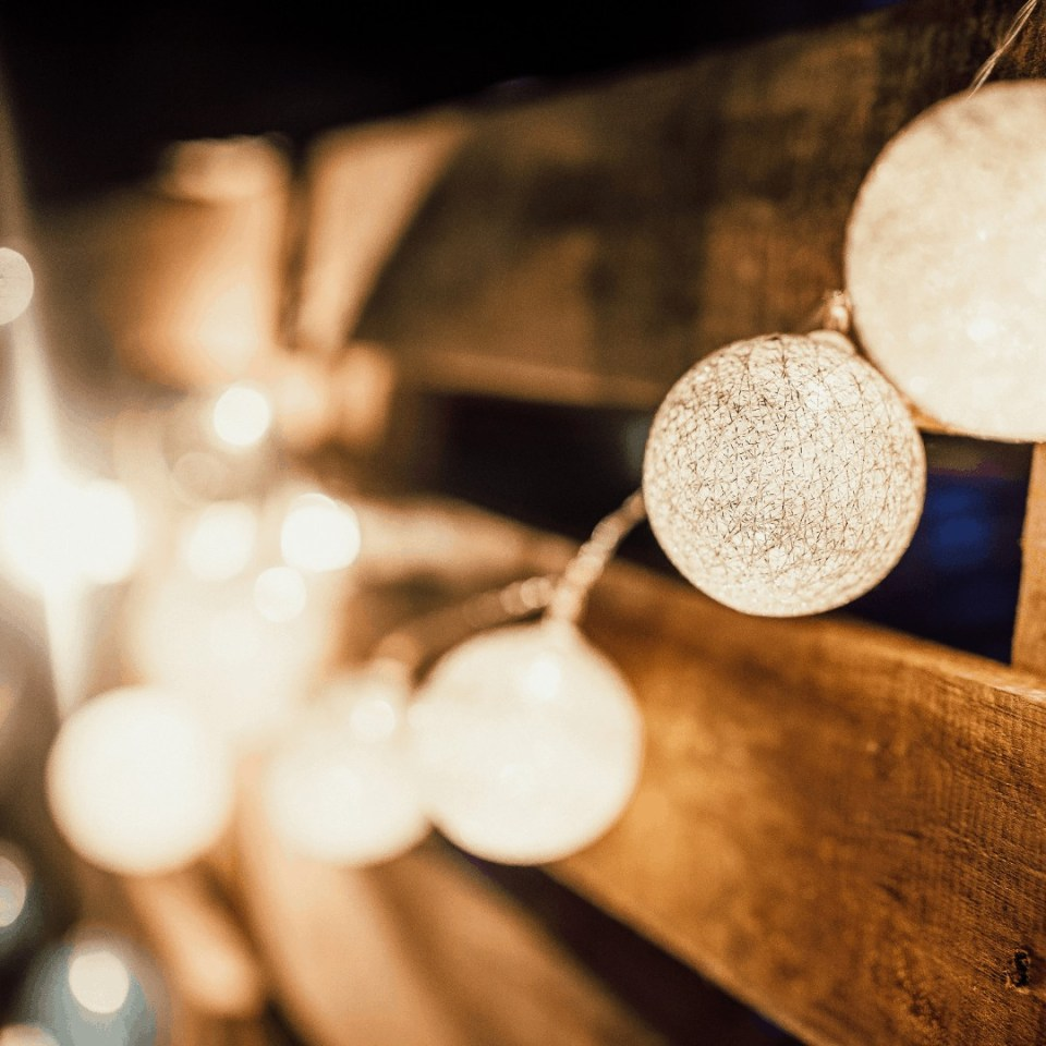 How To Create A Cozy and Inviting Outdoor Space In Any Size Space - Outdoor String Lights