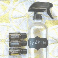 DIY Febreze Odor Eliminating Spray - How To Make Your Own Fabric Freshening Spray