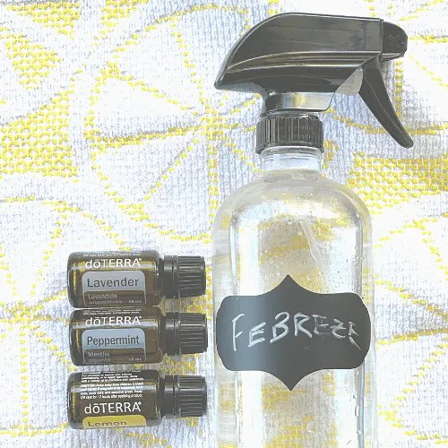 DIY Febreze Odor Eliminating Spray