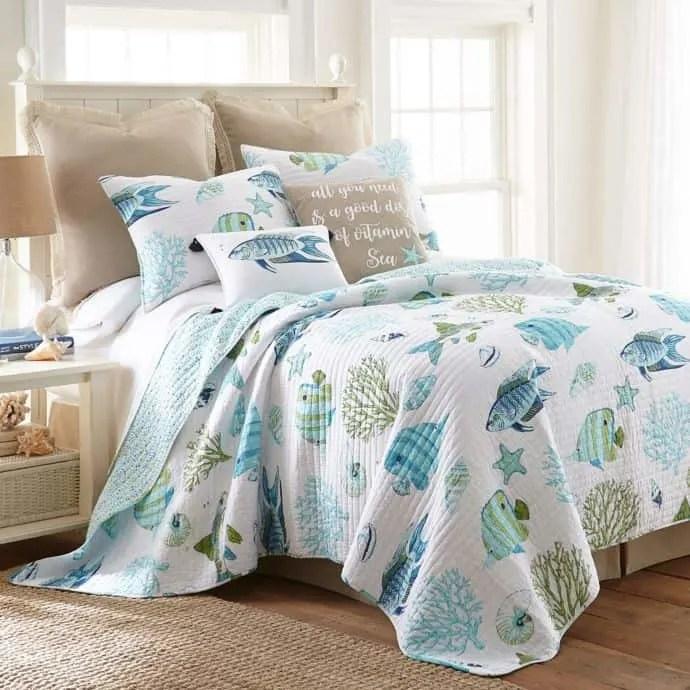 Beach Bedroom Coastal Bedding Blue