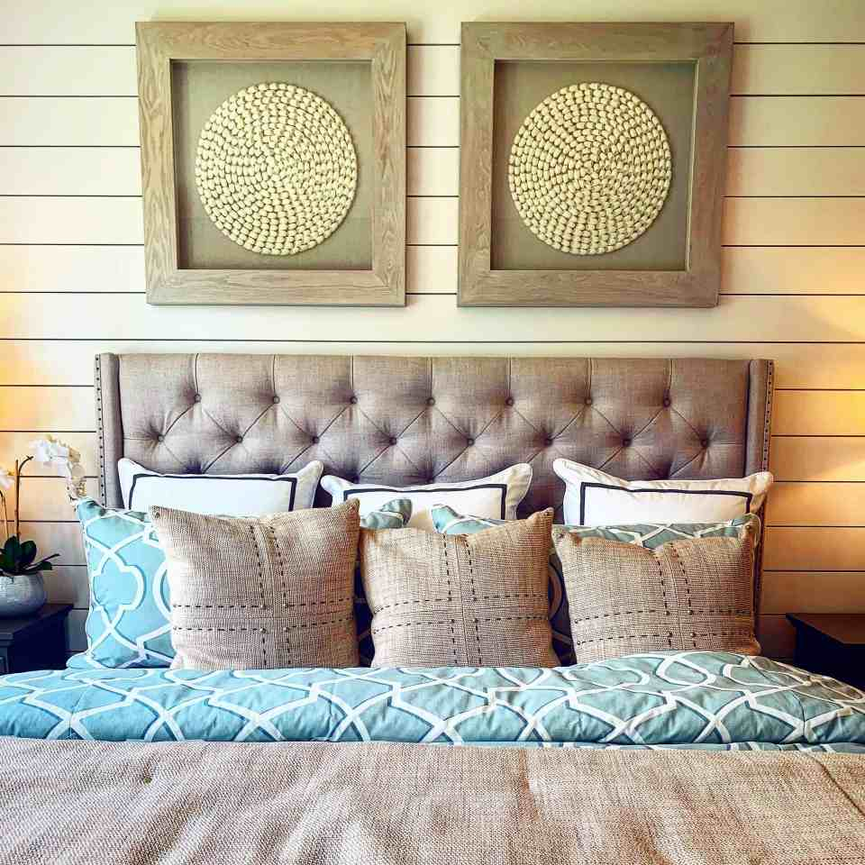 The Best Coastal Style Comforters For Your Beach House - Beach House Bedding Ideas - Neutral Tan
