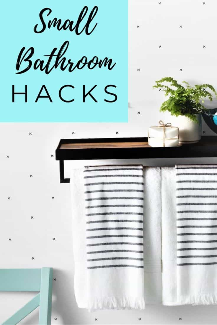 Hacks for Organizing & Designing Your Small Bathroom