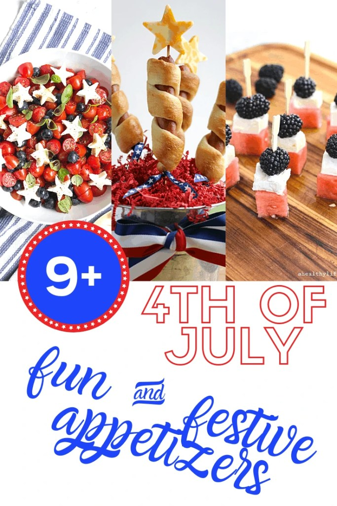 4th of july fun and festive appetizers
