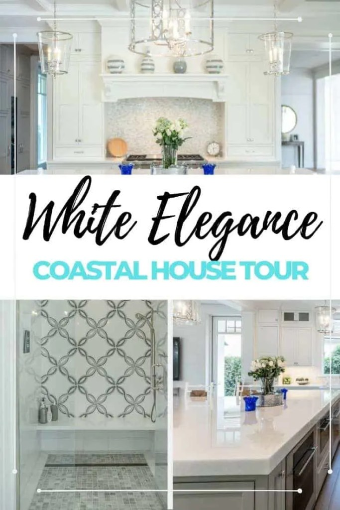 Amazing White Kitchen With Ideas For Your Elegant Coastal Design