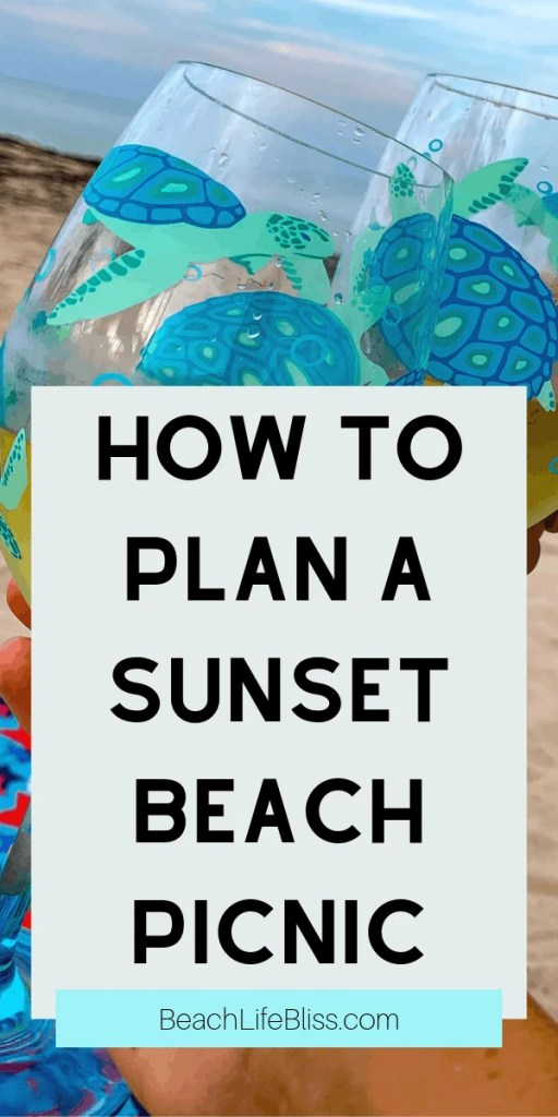 Sunset Beach Picnic Date night ideas