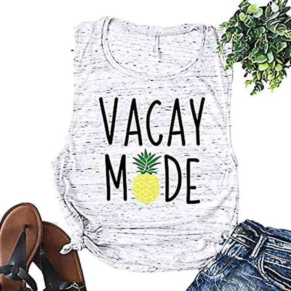 Vacay Mode Tank Top - Best Beach Vacation Tank Tops For Women