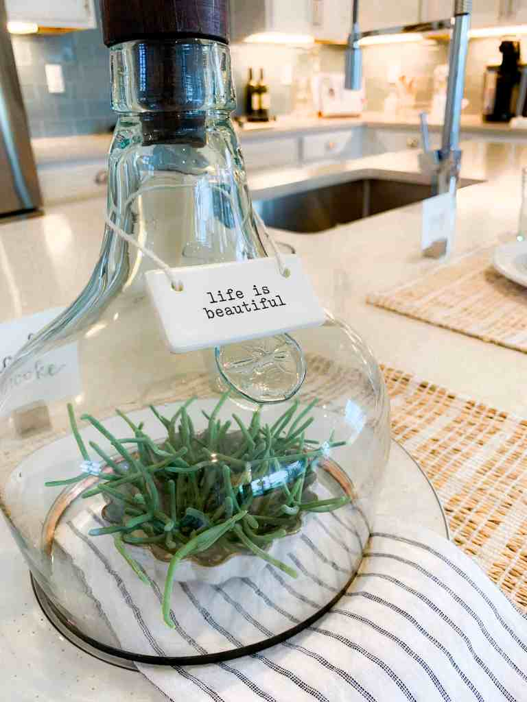 Beach Walk House Tour - Coastal Chic Design and Decor Ideas - life is beautiful glass