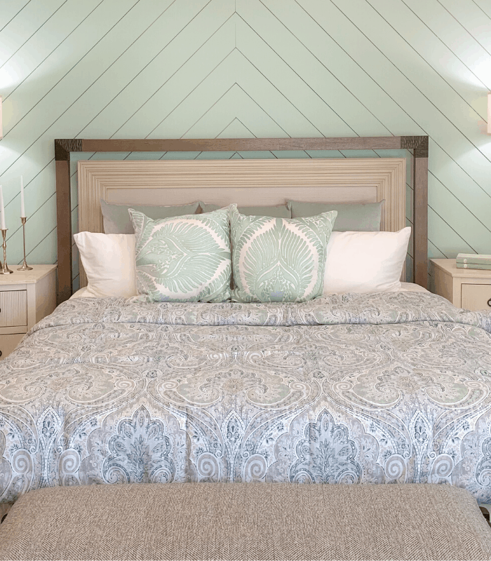 Seafoam Green Bedroom Design