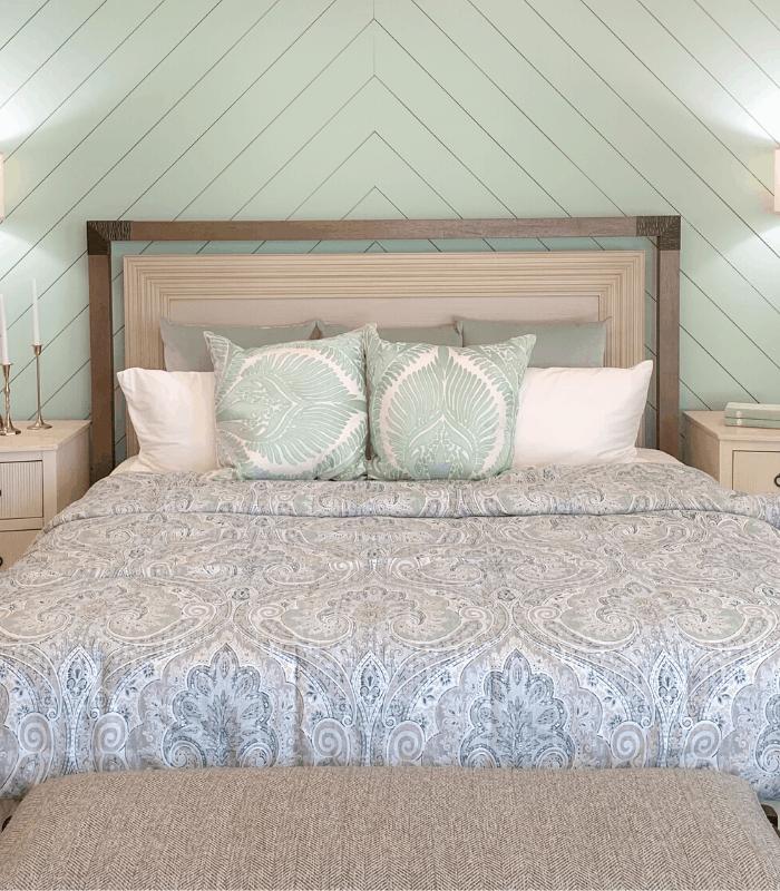 Seafoam Green Bedroom Design
