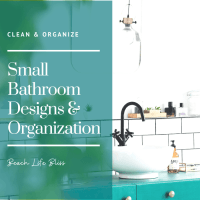 7 Smart Ways To Keep Your Small Bathroom Organized