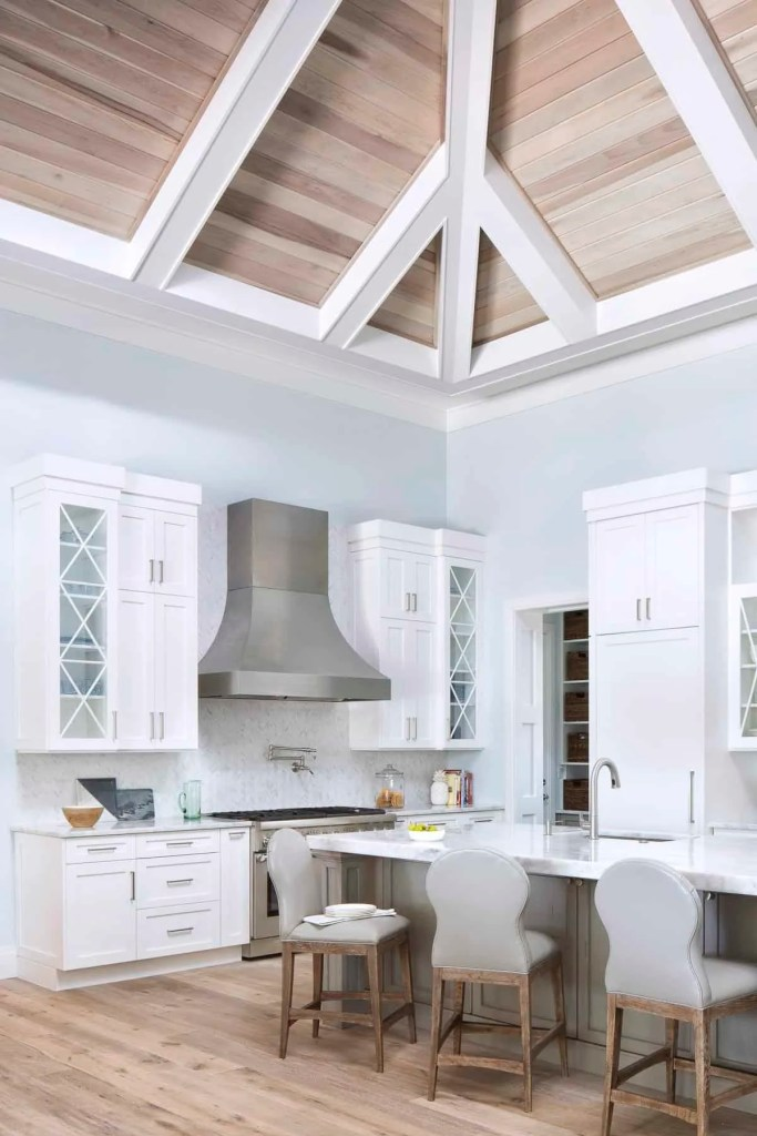 Coastal Calm White Kitchen Design