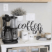 How To Create A Practical AirBnb Coffee Bar Guests Love
