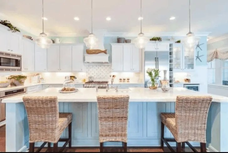 amazing beach house kitchens with tons