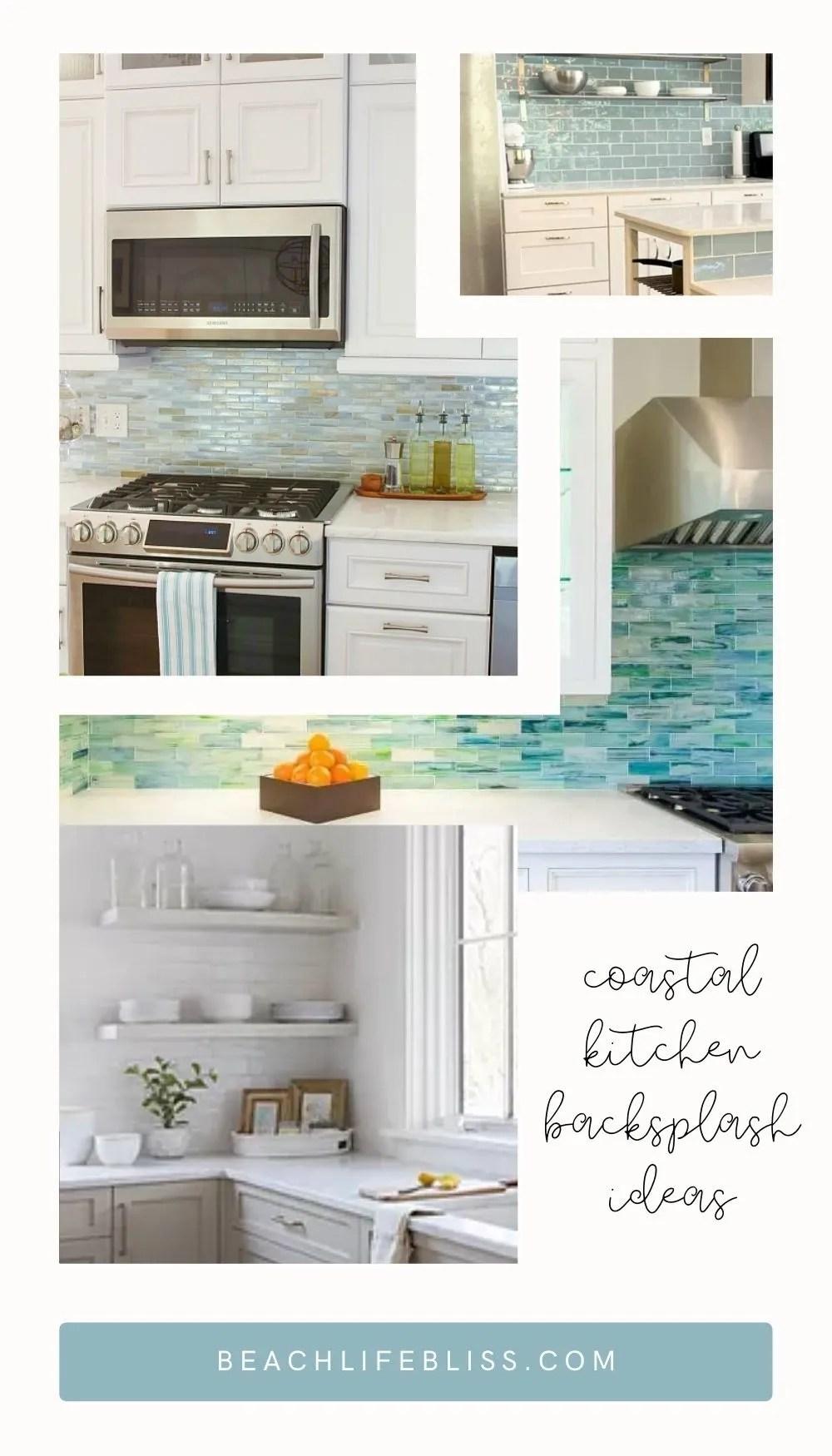 https beachlifebliss com beach decor coastal kitchen backsplash ideas