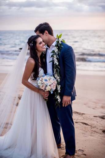 Aloha Maui Beach Weddings Couple 2018