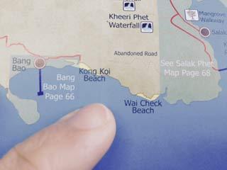 Koh Chang Thailand Map.Wai Chaek Koh Chang S Robinson Crusoe Beach Beachmeter