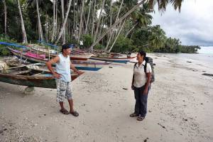Involving local people in tourism development on Nias Island, Indonesia