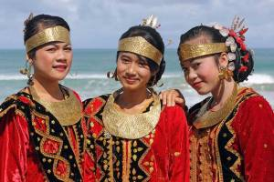 Traditional Ceremony Dress from Nias Island, Indonesia