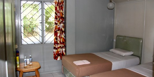 Selingan Island Resort room.
