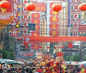 Yaowarat Chinatown Bangkok