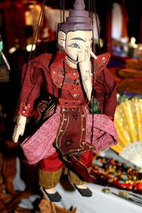 Marionette puppet from Myanmar