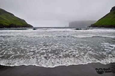 black beach Faroe Islands