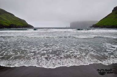 black beach Faroe Islands